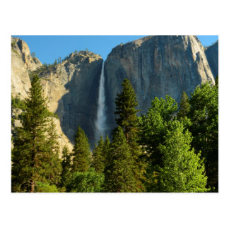 Las cataratas de Yosemite superiores, río de Tarjeta Postal