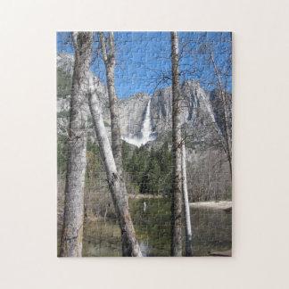 Las cataratas de Yosemite superiores Rompecabezas
