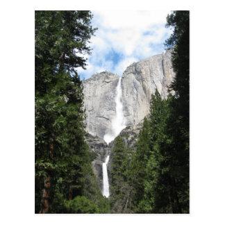 Las cataratas de Yosemite Tarjetas Postales
