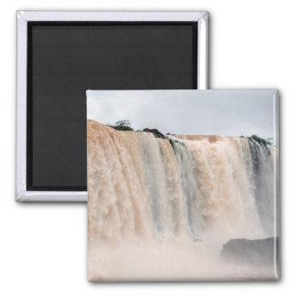 Las cataratas del Iguazú el Brasil/la Argentina Imán De Frigorífico