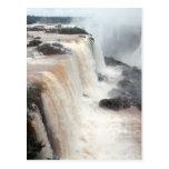 Las cataratas del Iguazú el Brasil/la Argentina Postal