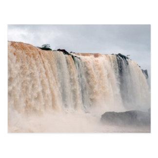 Las cataratas del Iguazú el Brasil/la Argentina Postales