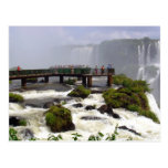 Las cataratas del Iguazú, el Brasil Postales