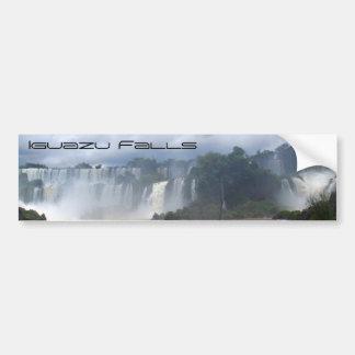 Las cataratas del Iguazú Pegatina Para Auto