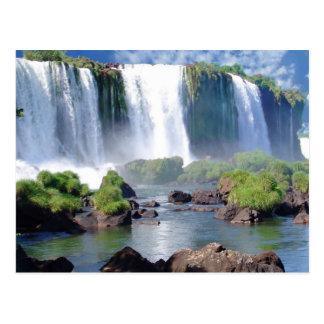 Las cataratas del Iguazú Postales