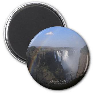 Las cataratas Victoria 2 Imanes Para Frigoríficos