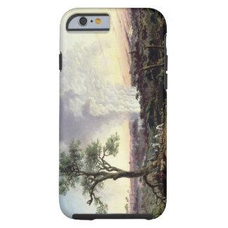 Las cataratas Victoria en la salida del sol, con Funda De iPhone 6 Tough