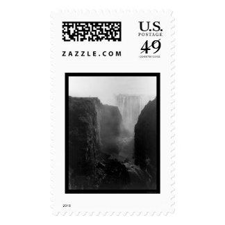 Las cataratas Victoria Rhodesia 1902 Sellos