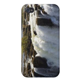 Las cataratas Victoria, río de Zambesi, Zambia. 2 iPhone 4 Funda