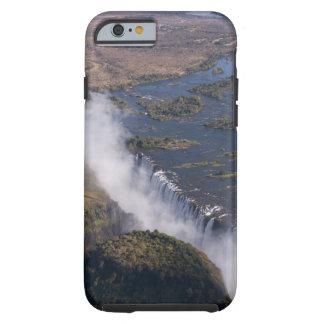 Las cataratas Victoria, río de Zambesi, Zambia - Funda De iPhone 6 Tough