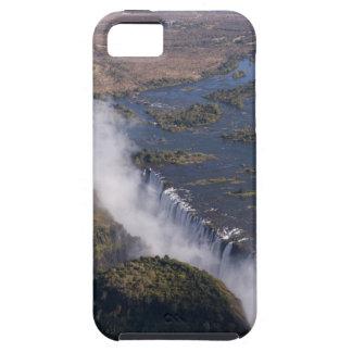 Las cataratas Victoria, río de Zambesi, Zambia - iPhone 5 Carcasa