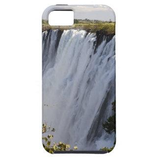 Las cataratas Victoria, río de Zambesi, Zambia iPhone 5 Carcasa
