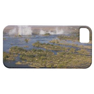 Las cataratas Victoria, río de Zambesi, Zambia - iPhone 5 Fundas