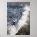 Las cataratas Victoria, río de Zambesi, Zambia - Impresiones