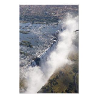 Las cataratas Victoria, río de Zambesi, Zambia - Arte Con Fotos