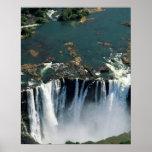 Las cataratas Victoria, Zambia a la frontera de Zi Impresiones