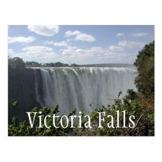 Las cataratas Victoria, Zambia, Zimbabwe Tarjetas Postales