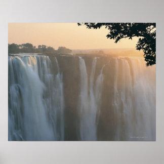 Las cataratas Victoria, Zimbabwe, África Impresiones