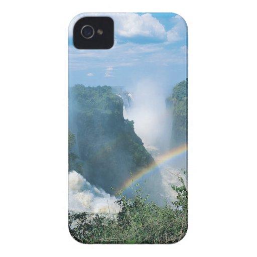 Las cataratas Victoria, Zimbabwe Case-Mate iPhone 4 Fundas