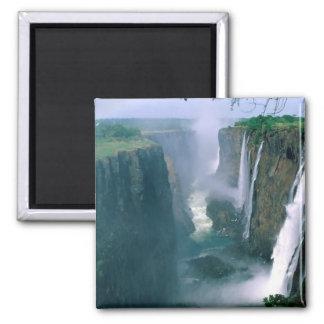 las cataratas Victoria, Zimbabwe Imán Cuadrado