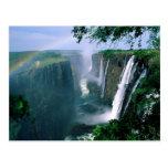 las cataratas Victoria, Zimbabwe Postal