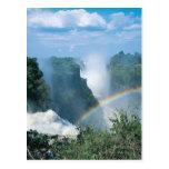 Las cataratas Victoria, Zimbabwe Postales