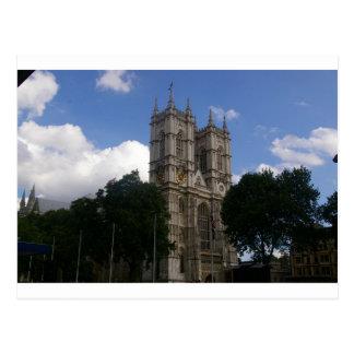 Las catedrales expresan, abadía de Wesminster Tarjeta Postal