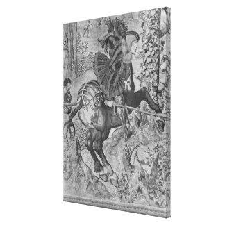 Las cazas de Maximiliano, Capricornio Impresiones En Lona Estiradas