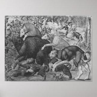 Las cazas de Maximiliano, Capricornio Póster