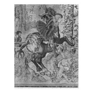 Las cazas de Maximiliano, Capricornio Tarjeta Postal