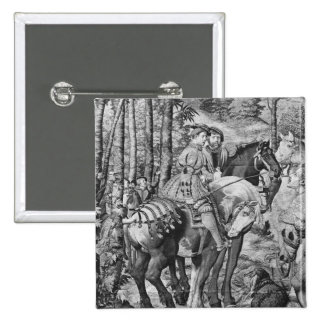 Las cazas de Maximiliano, Leo, la caza del macho Pin Cuadrado