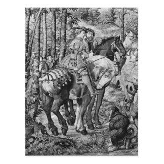 Las cazas de Maximiliano, Leo, la caza del macho Tarjetas Postales