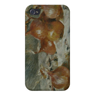 Las cebollas (Oignons) Pierre-Auguste Renoir iPhone 4/4S Carcasa