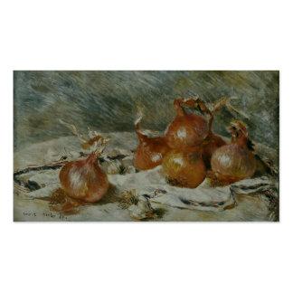 Las cebollas (Oignons) Pierre-Auguste Renoir Tarjeta Personal