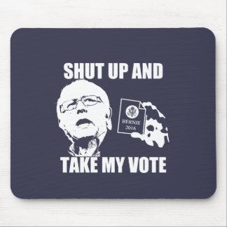 Las chorreadoras de Bernie - cerradas y toman mi Tapetes De Ratón
