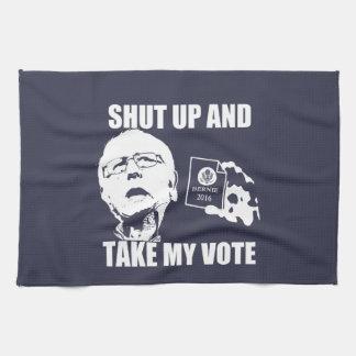 Las chorreadoras de Bernie - cerradas y toman mi Toalla De Mano