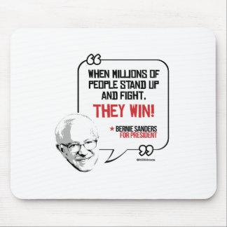 Las chorreadoras de Bernie citan - levántese y Alfombrillas De Raton
