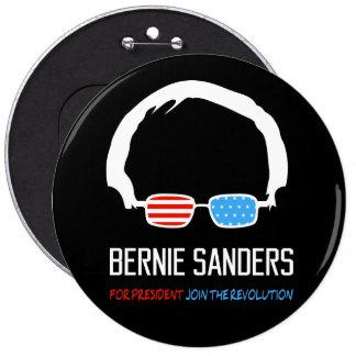 Las chorreadoras de Bernie - únase a la revolución Pin Redondo De 6 Pulgadas