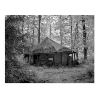 Las chozas de las maderas No2 de Werndee Postal