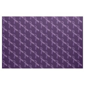Las cintas púrpuras tejaron el modelo telas