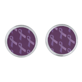 Las cintas púrpuras tejaron el modelo
