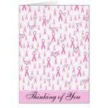 ¡Las cintas rosadas, cuido! _ Tarjetas