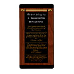Las citas del lector (Bookplate personalizado) Etiqueta De Envío