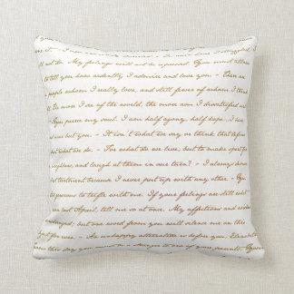 Las citas del mejor de Jane Austen Almohada