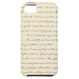 Las citas del mejor de Jane Austen iPhone 5 Case-Mate Cobertura