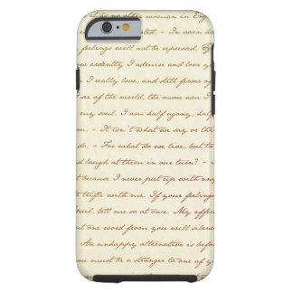 Las citas del mejor de Jane Austen Funda De iPhone 6 Tough