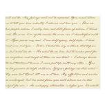 Las citas del mejor de Jane Austen Postal