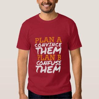 Las citas divertidas de la camiseta los convencen poleras