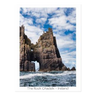 Las ciudadelas de la roca tarjetas postales