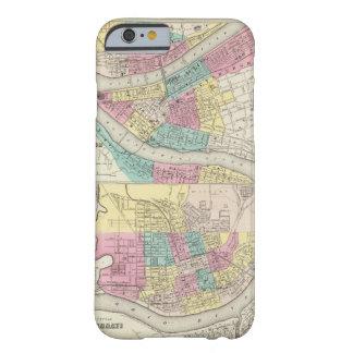 Las ciudades de Pittsburgh Allegheny Cincinnati Funda Barely There iPhone 6